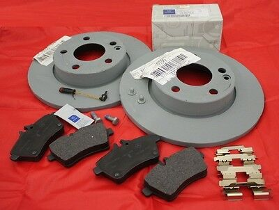 Genuine Mercedes-Benz W169 A-Class Front Discs & Pads Kit NEW