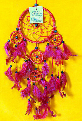 CAPTEUR DE REVE ATTRAPE ATTRAPEUR /DREAM CATCHER COUNTRY ROUGE dreamcatcher