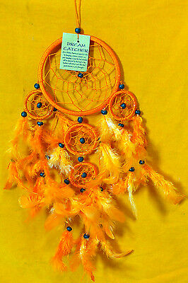 CAPTEUR DE REVE ATTRAPE ATTRAPEUR /DREAM CATCHER COUNTRY ORANGE dreamcatcher
