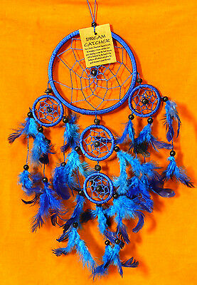 CAPTEUR DE REVE ATTRAPE ATTRAPEUR /DREAM CATCHER COUNTRY BLEU dreamcatcher
