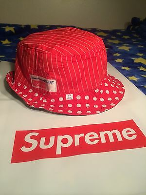 30f26df7d SUPREME 2014 S/S Comme Des Garcons Cdg Reversible Crusher Red S/M ...