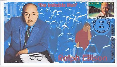 Jvc Cachets - 2014 Ralph Ellison First Day Covers Fdc Black Heritage Topical #2