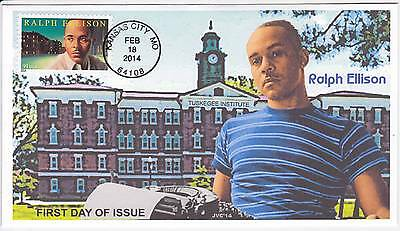 Jvc Cachets - 2014 Ralph Ellison First Day Covers Fdc Black Heritage Topical #1