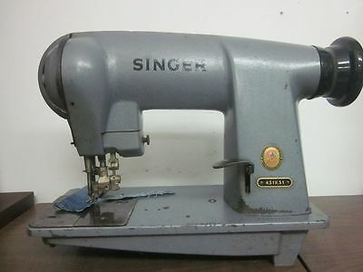 SINGER 451K51 451K 51 Single Needle with Edge Cutter INDUSTRIAL SEWING MACHINE