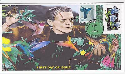 Jvc Cachets - 2014 Hummingbirds First Day Covers Fdc Topical Birds -Frankenstein