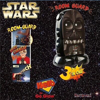 Star Wars Darth Vader Go Glow Heroes 3-in-1 Room Guard Torch Voice Changer