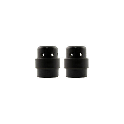 Gas Diffuser MIG - MB24 - Long Life - Black Duroplast - 2 Pack - Binzel Style
