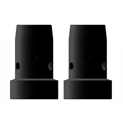 Gas Diffuser MIG  - MB38 - Long Life - Black Duroplast - 2 Pack - Binzel Style