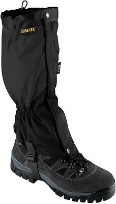 Trekmates Sprint Gore-Tex Gaiter Black Waterproof Hiking Shooting Walking