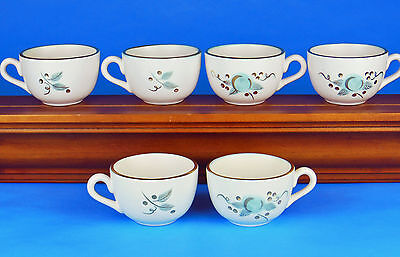 RARE! Set of TWO Cups, MINT Condition! Frosted Fruit, Stangl Pottery, USA