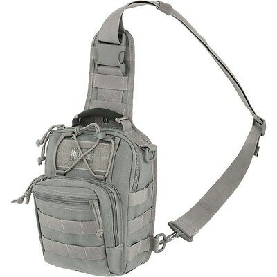 Outdoor Remora Tactical Gearslinger Backpack, Small Gray Men Camp Hike Trek Pack