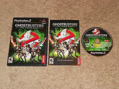 Ghostbusters: The Video Game  TESTED COMPLETE (Sony PlayStation 2, 2009) PS2