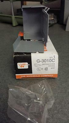 NIB Wiremold G-3010C Entrance End Fitting Gray