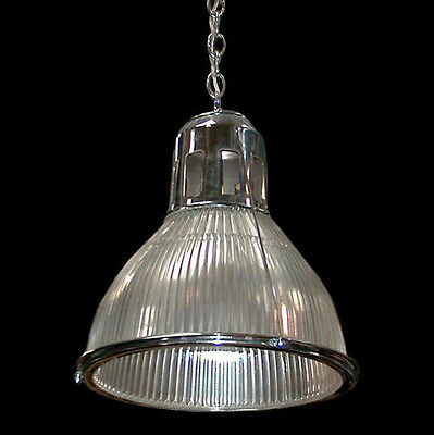 Holophane Light Fixture in Nickle or Bronze #6461