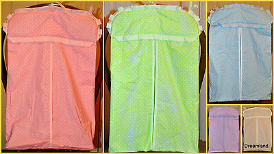 Nursery Nappy Bag / Baby Diaper Stacker for cot or cot bed