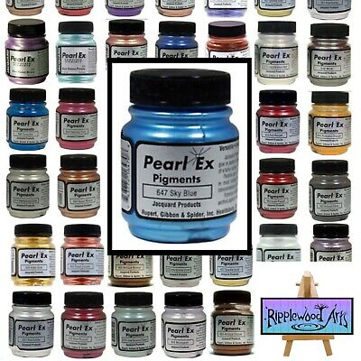 Jacquard PEARL EX - POWDER PIGMENTS - Large Bottles - Full Color Range Available