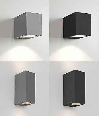 Astro Chios external outdoor wall lights up down halogen 35W GU10 (not included)
