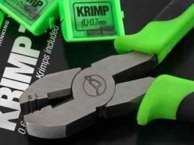 Korda Krimping Tool Pliers Crimping Tool Spare Krimps Both Sizes 0.6mm 0.7mm New