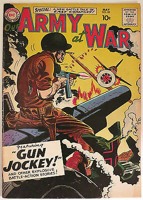 OUR ARMY AT WAR #82 (1959) 1st SGT. ROCK APPEARANCE !
