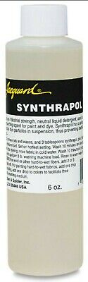 Jacquard SYNTHRAPOL - 6 oz Bottle - Use with Acid and Procion Dyes