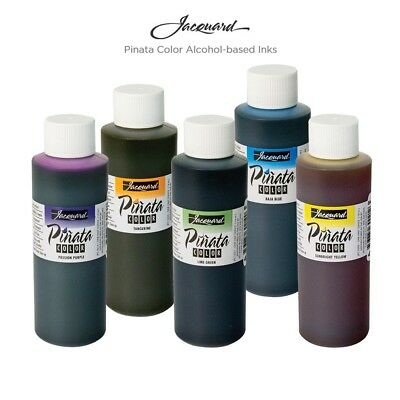 Jacquard PINATA ALCOHOL INK  Large  4oz Bottle (118mls)  -  20 Colors Available