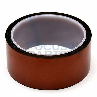40mm X 100Ft Gold High Temperature Heat Resistant Kapton Tape Polyimide BGA