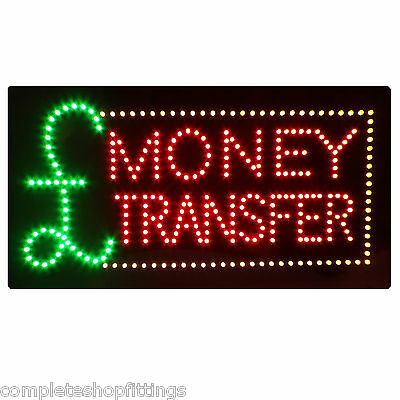 BRAND NEW SHOP FLASHING LED SIGN INTERNET CAFE WINDOW HANGING DOOR SIGN BOARD