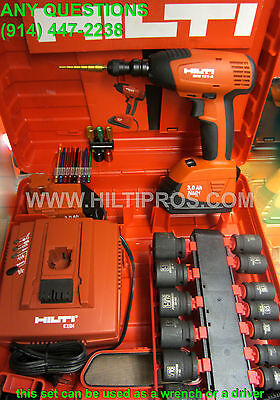 "Hilti IMPACT CORDLESS ( SID / SIW) 1/2"" WRENCH /DRIVER SET BRAND NEW , FAST SHIP"