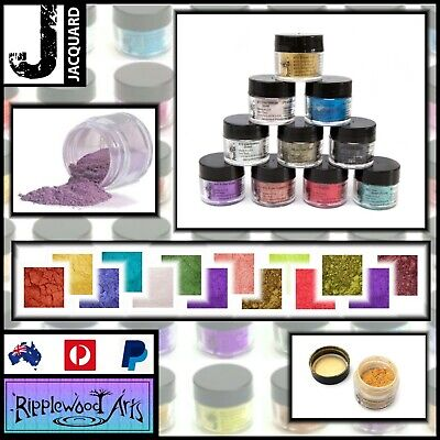 Jacquard PEARL EX - POWDER PIGMENTS - 49 Colors Available  -   3gm Jars
