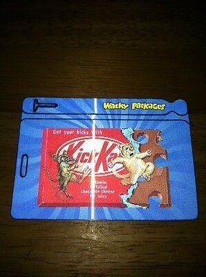 The Craziest Wacky Package Subset MOTION BAG TAGS ANS9 KICK KAT MOUSE CAT FUNNY