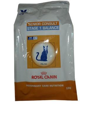 3,5kg Royal Canin Senior Consult Stage 1 Balance  Veterinary  Nutrition