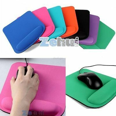 Square Mouse Pads Thicken Comfort Wrist For Optical / Trackball Mat Mice Pad