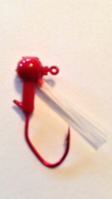 """1//2oz Painted Weedless Brush Jigs Pole Dancer Qty 25 /""""Free Shipping/"""""""