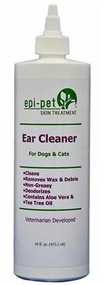 "Epi-Pet ""ALL NATURAL"" Skin Treatment 16 oz Ear Cleaner Anti-Fungal Anti-yeast"