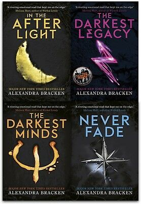 Darkest Minds Trilogy Alexandra Bracken Collection 4 Books Set The Darkest Legac