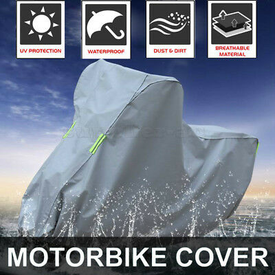 XXL Waterproof Outdoor Motorcycle Motorbike Cruiser Scooter Motor Bike Cover