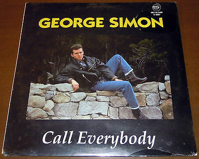 """12"""" GEORGE SIMON Call everybody (City Record 92) obscure Italo pop RARE SEALED!"""