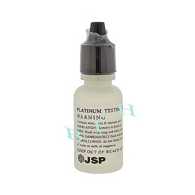 Platinum Test Acid Bottle Solution Jewelry Testing Platinum Acid Test Bottle New