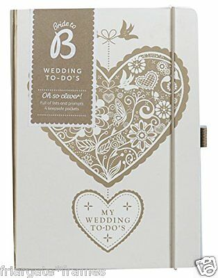 KTWO Wedding Planner Busy B Book Diary Organiser Journal Engagement Gift