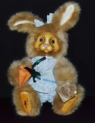 "Robert Raikes Original Limited Edition 11"" Bunny Rabbit Dottie w/Tag"