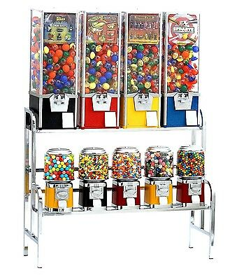 Bulk Candy Vending Machine Service Start Up Sample Business Plan!