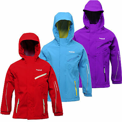 Regatta Skyjack Kids Jacket Girls Boys Waterproof & Breathable RKW123