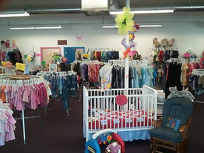 Used Baby Clothing Store Start Up Sample Business Plan!