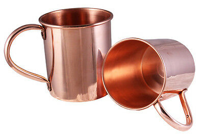 Solid Copper Mugs (20) NEW 16oz Moscow Mule