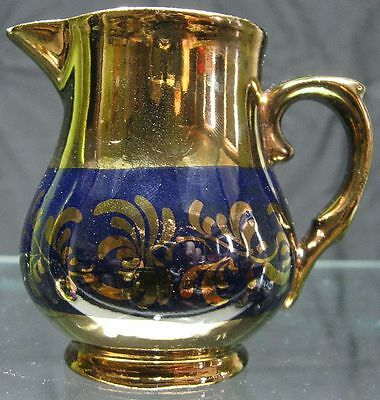 Vintage Creamer Copper Luster made in England Maybe Wade