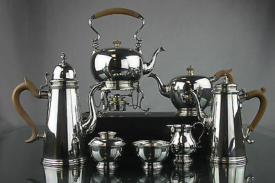 Ensko New York Vintage Sterling Silver 7 Pc Tea And Coffee Set