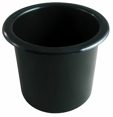 Universal Drop-In Cup Holder Black Interior or Outdoor
