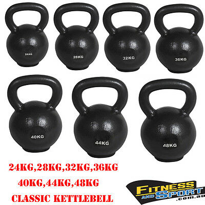 24kg to 48kg RUSSIAN CLASSIC KETTLEBELL GYM STRENGTH WEIGHTS TRAINING EXERCISE