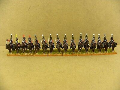 15mm Napoleonic painted French Late Hussar Fre021