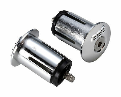 BBB ScrewOn EndCaps for Road Bars - Black / Silver